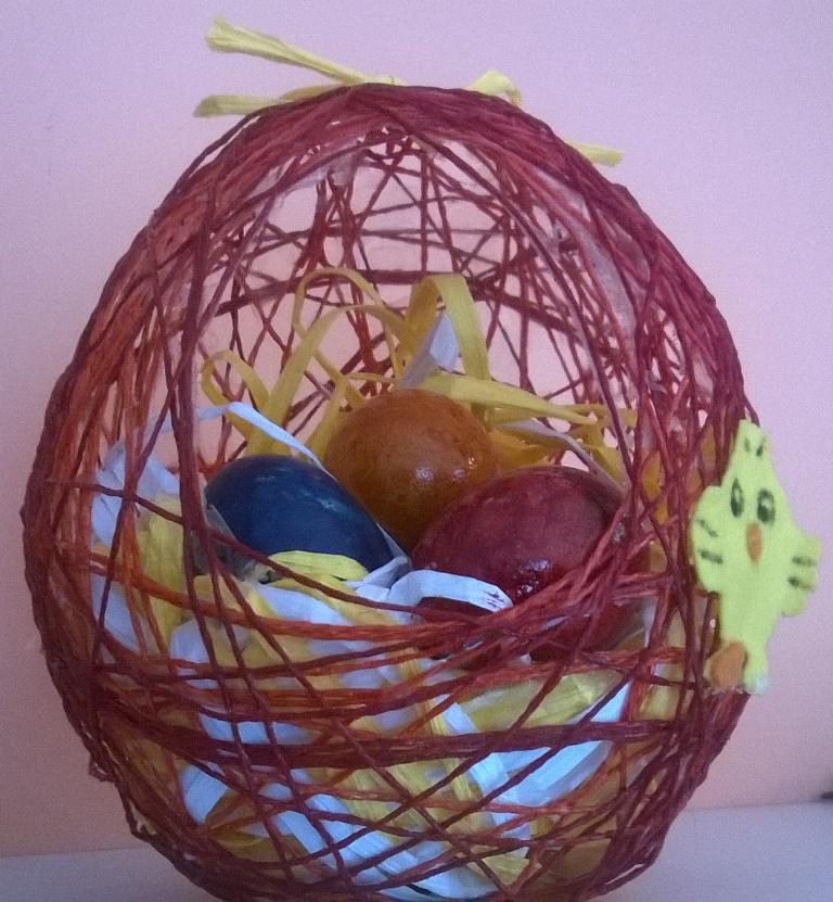 Centrotavola Pasquale: Handmade Easter