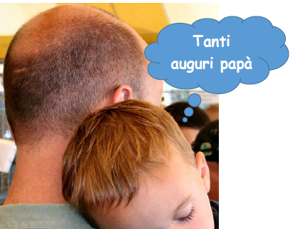 Festa del papà, tanti auguri