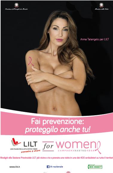Prevenzione al seno. Ottobre mese della prevenzione