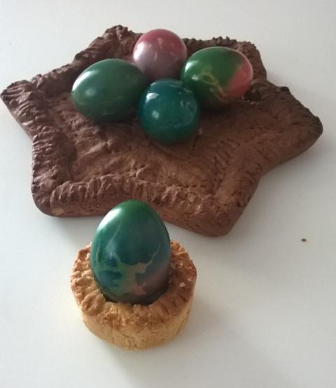 Come colorare le uova – Segnaposto di Pasqua