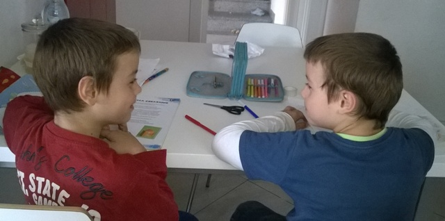 Come fare i compiti con i gemelli