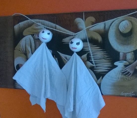 Lavoretti halloween fantasma per decorare la casa for Lavoretti per decorare la stanza