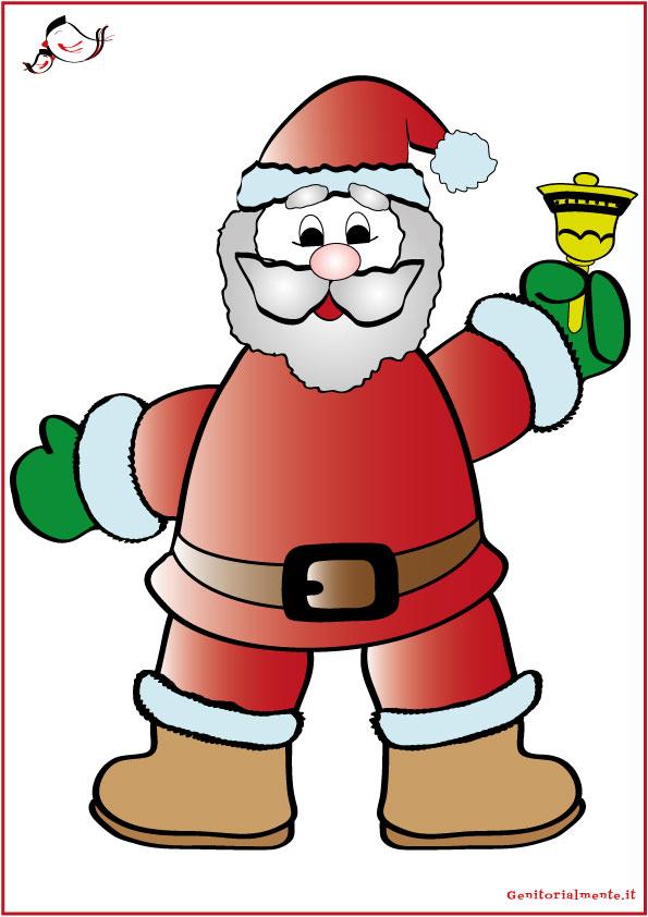 Decorazioni natalizie per finestre da scaricare